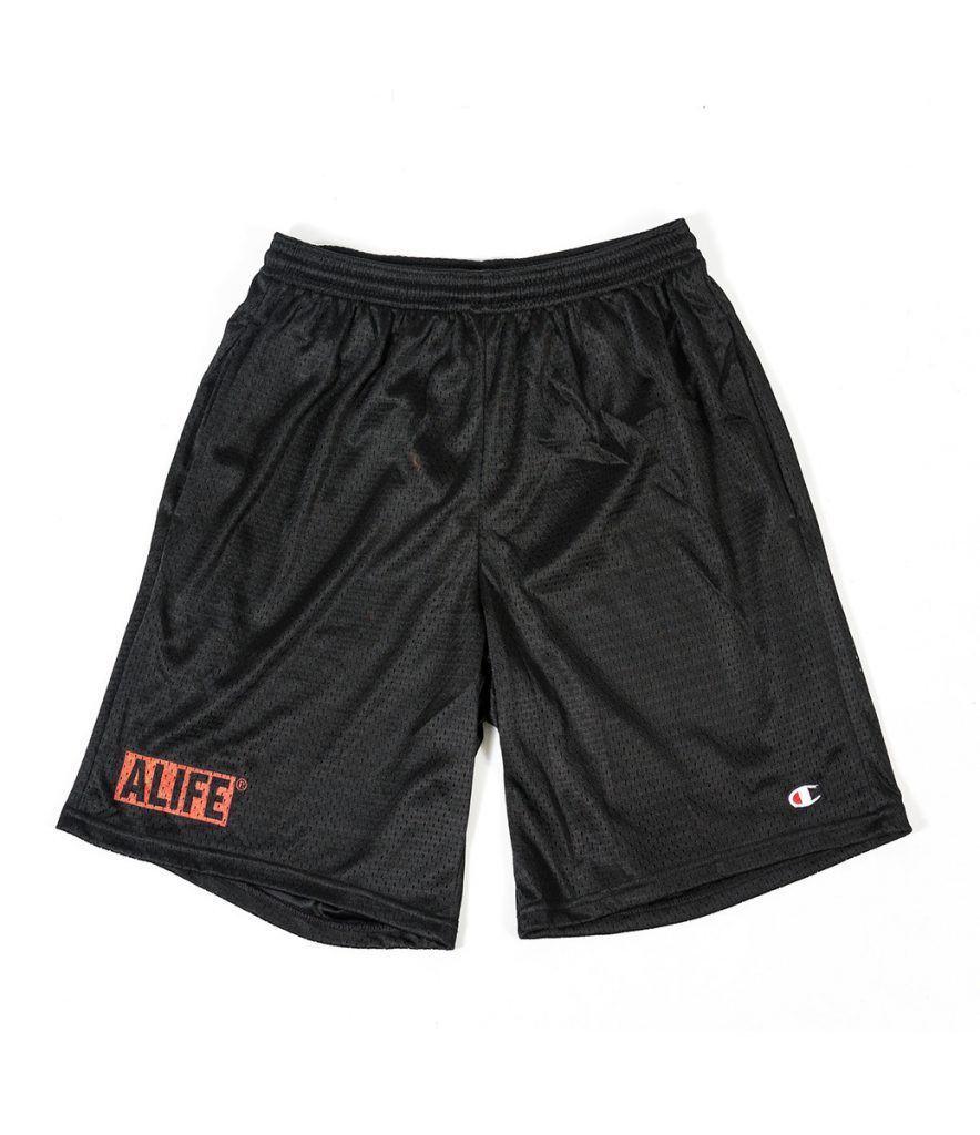 Alife_Mesh_Shorts_Black